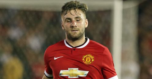 Luke Shaw: Told he must get fitter by United boss Louis Van Gaal