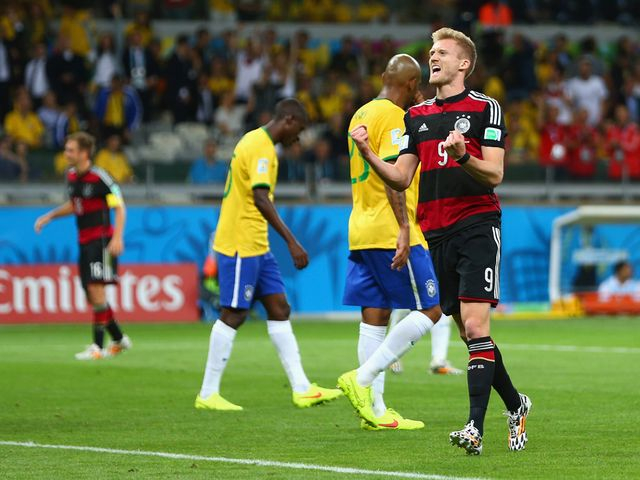 Andre Schurrle scored two of Germany's goals