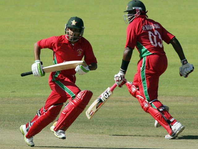Sikandar Raza and Hamilton Masakadza guided Zimbabwe to victory