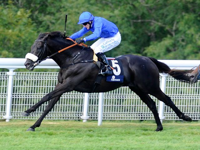 Kieren Fallon guides Cavalryman to victory in the Goodwood Cup