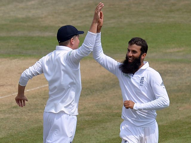 Moeen Ali: England all-rounder spun his way through India's lower order on day five