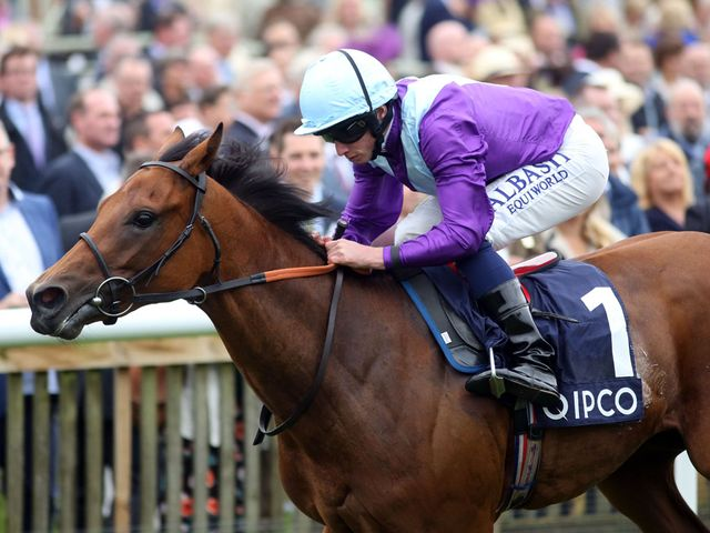 Arabian Queen gave her to win the Duchess of Cambridge Stakes.