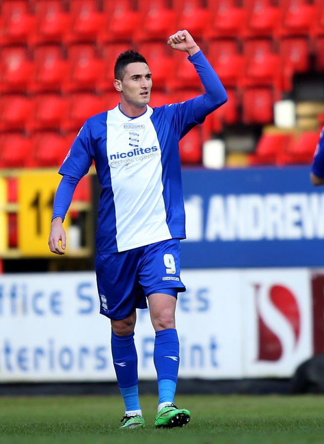 Federico Macheda: Netted twice for new club Cardiff