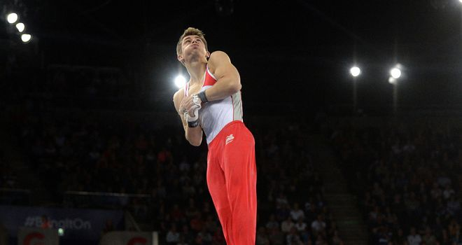 Max Whitlock: superb display in Glasgow