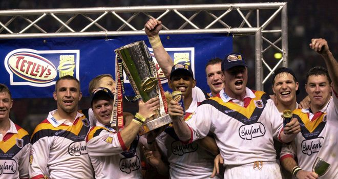 Glory days: Bulls' Super League winning years seem a distant memory