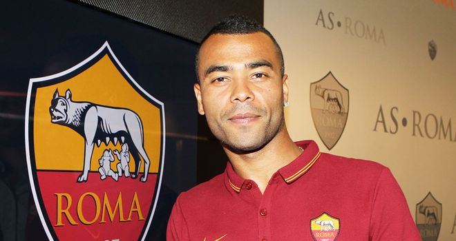 Ashley Cole: Believes Roma can win Serie A