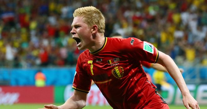 Kevin De Bruyne: Opened the scoring early in the first period of extra-time