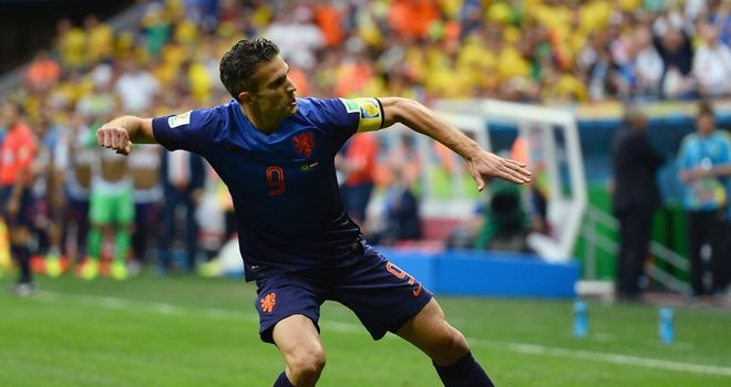 Robin van Persie: Notched early penalty