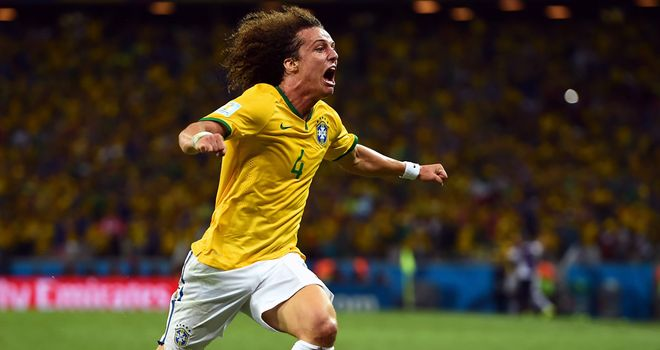 David Luiz: Will captain Brazil on Tuesday