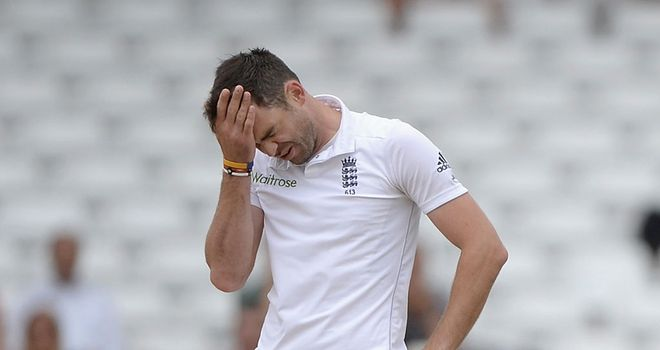 James Anderson: Will be desperately hoping the hearing goes in his favour