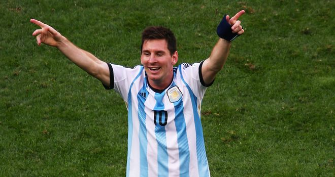 Lionel Messi: Argentina ace has his sights on World Cup glory