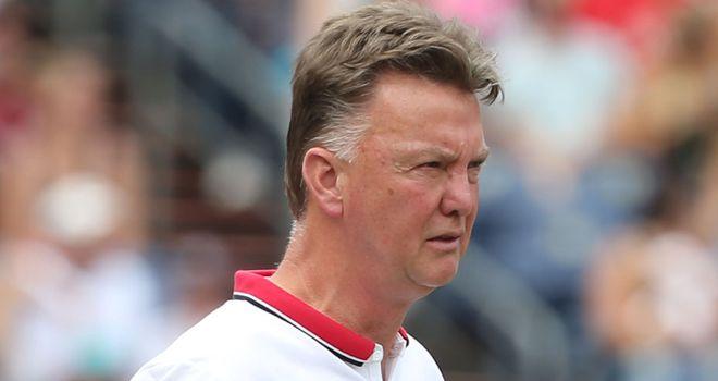 Louis van Gaal: Saw his United side beat Roma 3-2