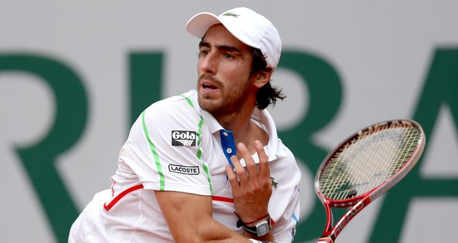 Pablo Cuevas: Dropped just three games in Swedish Open final