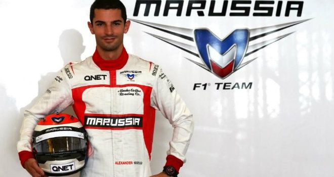 New Marussia reserve driver Alexander Rossi