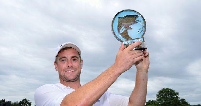 Andrew Geldart with his trophy