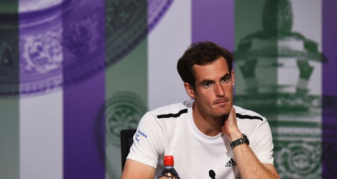 Murray: Backed by Henman to come back stronger