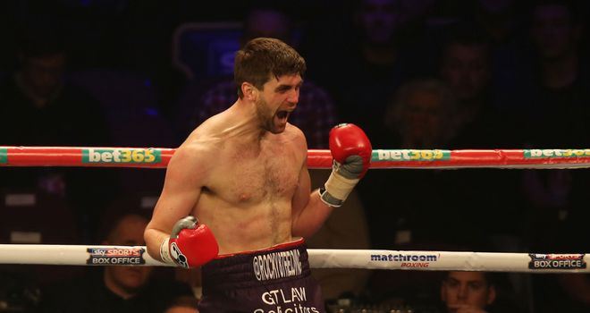 Ready to Rock: a bit of refinement and Fielding will be some boxer, says Glenn