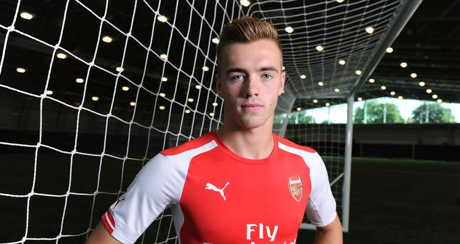 Calum Chambers: New arrival at Arsenal