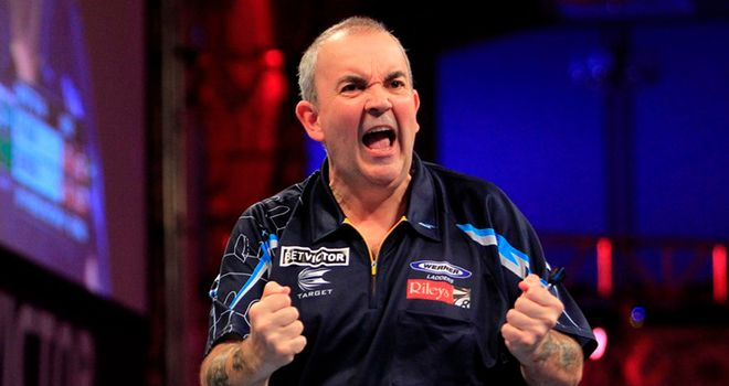Phil Taylor: Has now won in Blackpool an astonishing seven times in a row