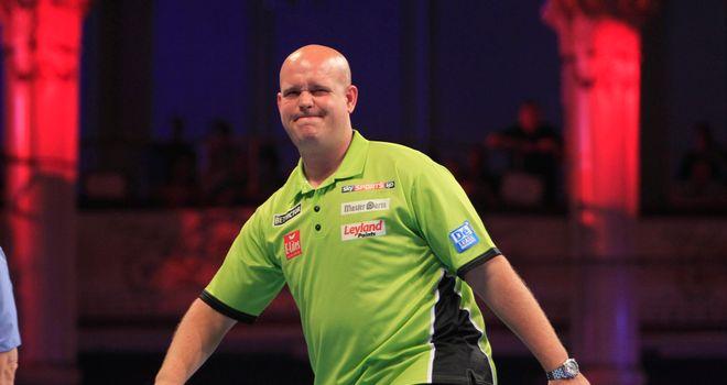 Van Gerwen: world number one