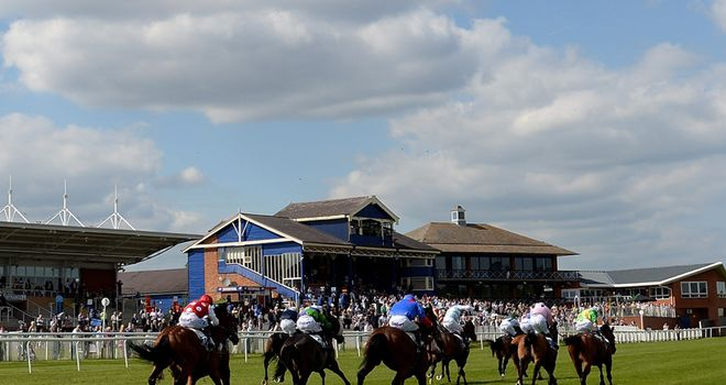 A general view of Leicester Racecourse