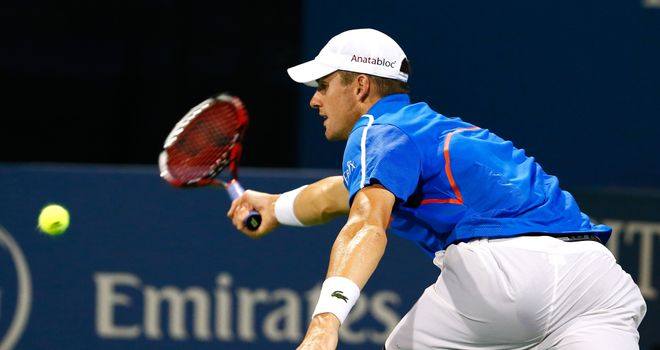 John Isner: Overcame Robby Ginepri in three sets