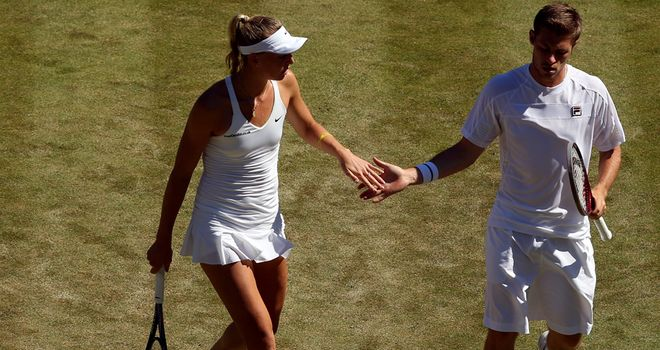 Defeat for British pair Naomi Broady and Neal Skupski at Wimbledon on Friday