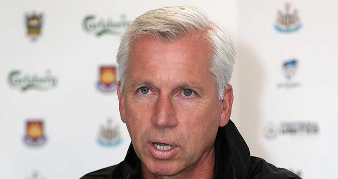 Alan Pardew: Happy with new-look Newcastle squad