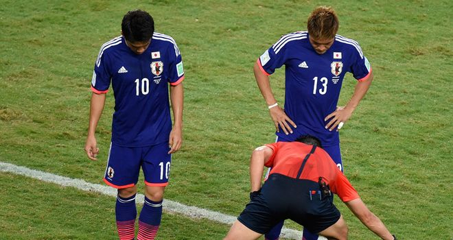 Vanishing spray: To be used in the Premier League this term