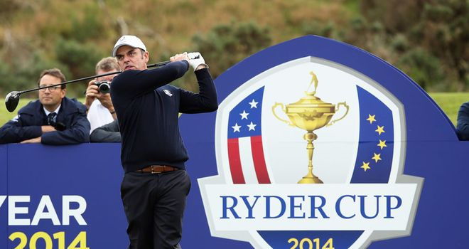 Paul McGinley: hampered by shoulder injury