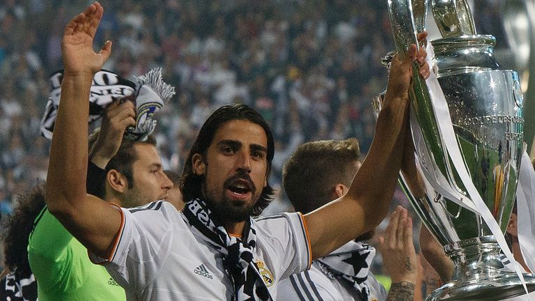 Sami Khedira: Could leave Madrid for free in summer