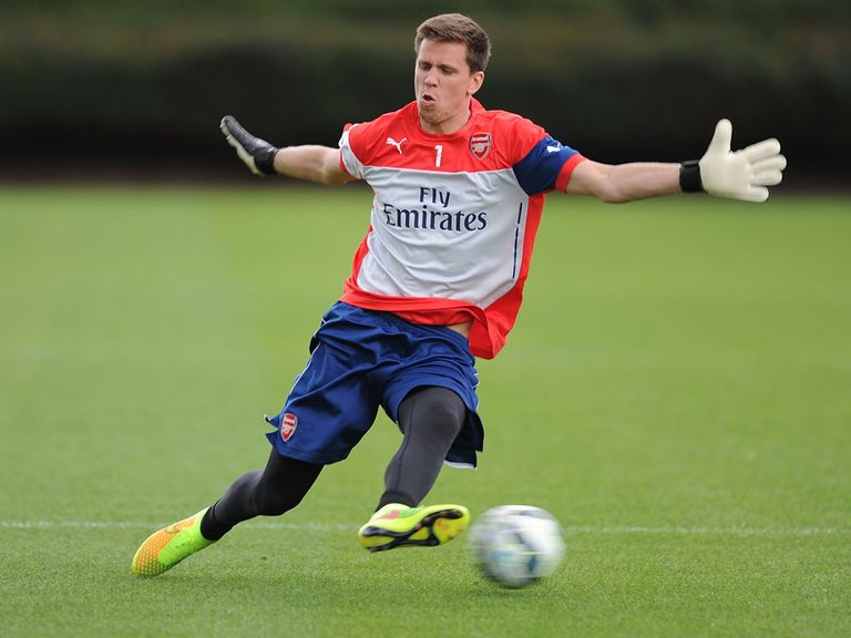 Szczesny: Will remain Arsenal's No. 1