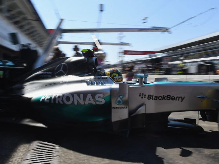 Nico Rosberg: Set the pace in final practice