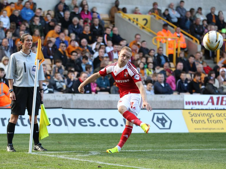 Alex Pritchard: Impressed at Swindon last season