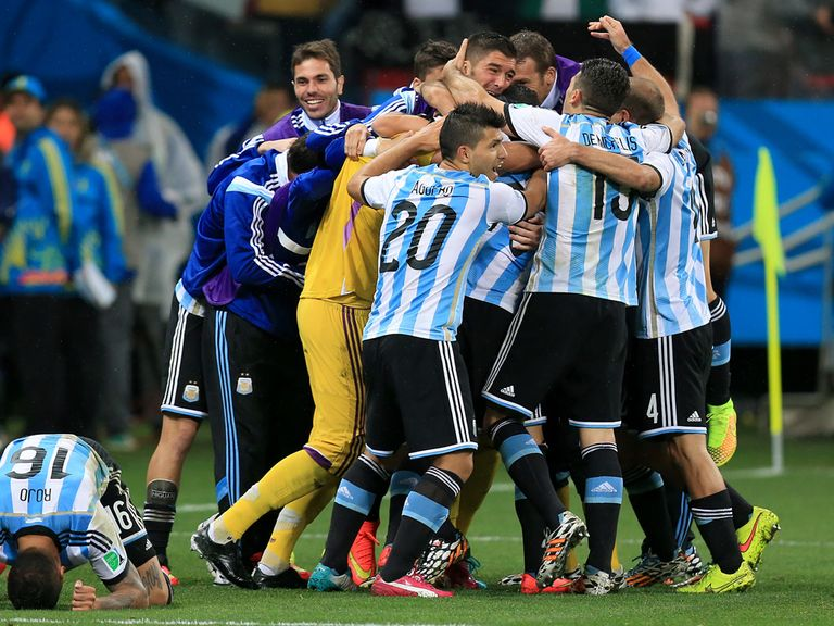 Argentina are fancied to win their third World Cup