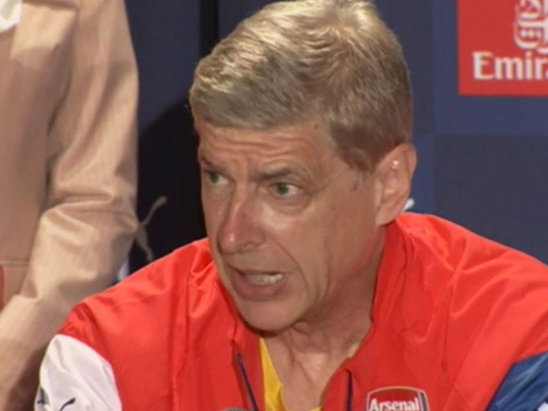 Wenger: Insists no player is 'too good' to join Arsenal