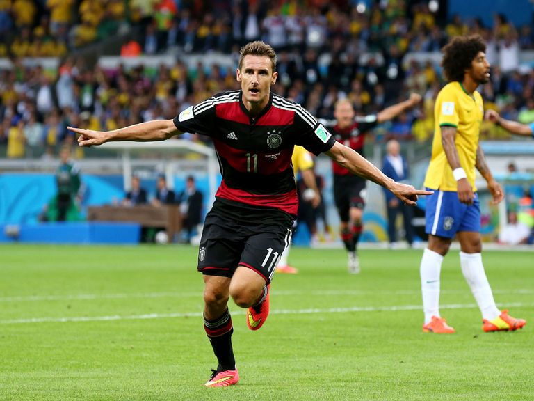 Miroslav Klose: Leading scorer in World Cup history