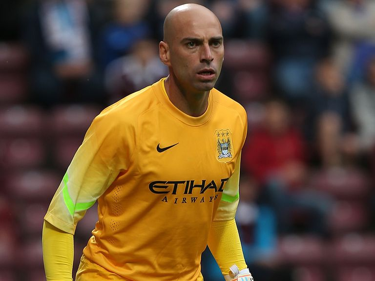 Willy Caballero: Joined Manchester City this summer