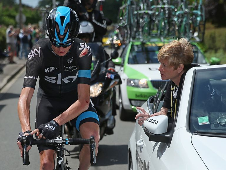 Chris Froome: Out of the Tour de France