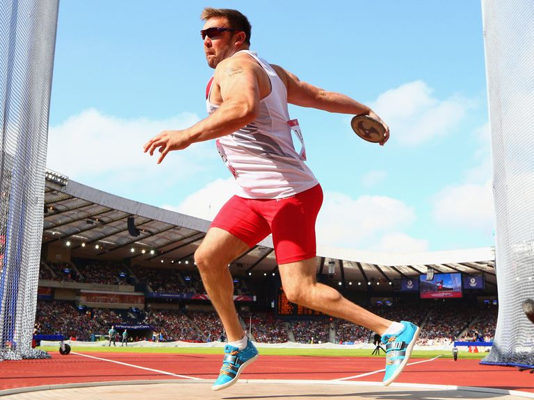 Dan Greaves: Struck discus gold for England