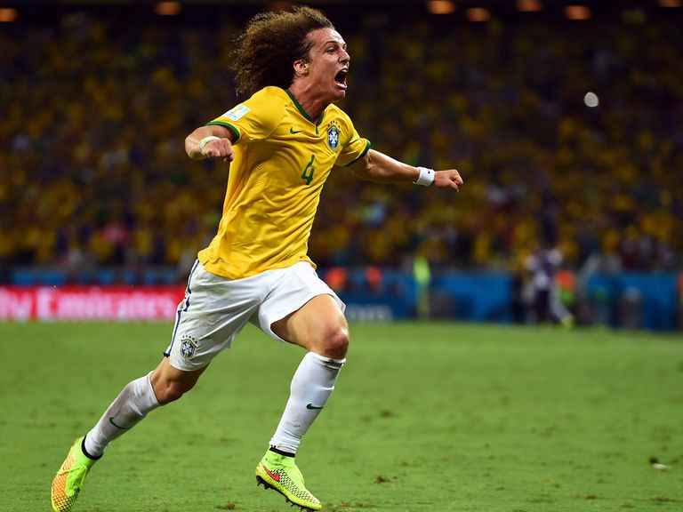 David Luiz: Vice-captain of Brazil