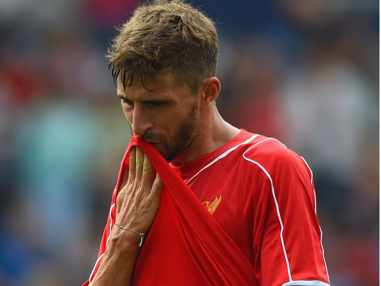 Fabio Borini: Happy to stay at Anfield