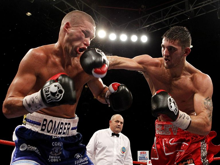 Nathan Cleverly (r): Defeated Tony Bellew back in 2011