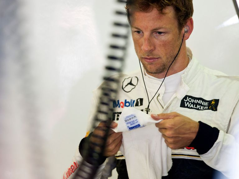 Jenson Button: Awaiting decision on 2015 season