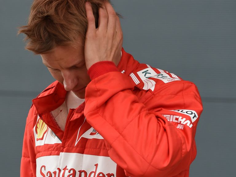 Raikkonen: Crashed at 150mph on Sunday