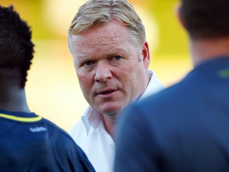 Ronald Koeman: Has seen several of his top players leave
