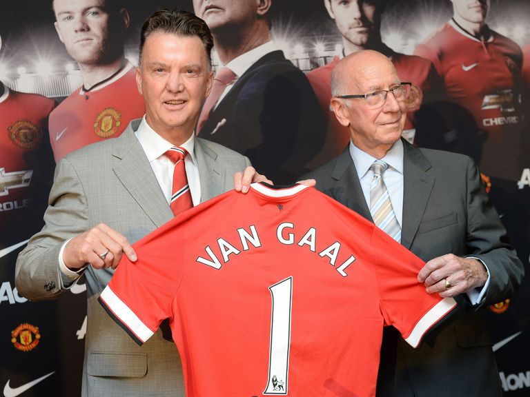 Charlton: Feels United have the right man now in van Gaal