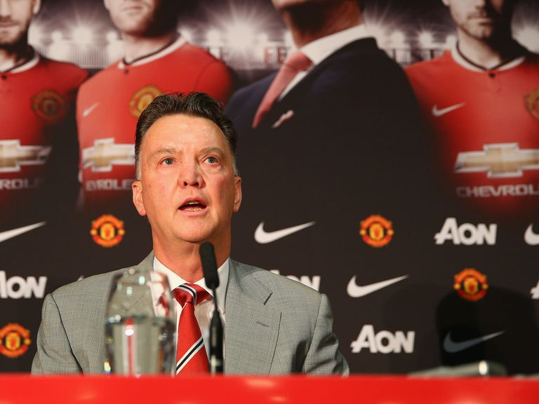 Van Gaal: Will spend the next three or four weeks assessing his players