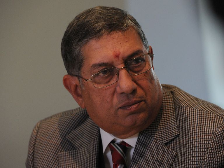 Narayanaswami Srinivasan: Has vowed to clean up the sport
