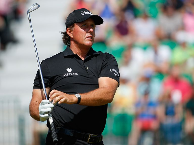 Mickelson: Took heart from final round at Firestone
